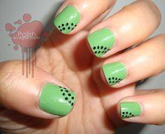 kiwi fruit manicure