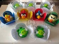 doces decorados angry birds - Pesquisa Google