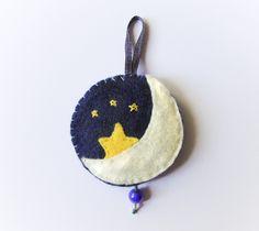 Starry night felt ornament by Narthys on deviantART