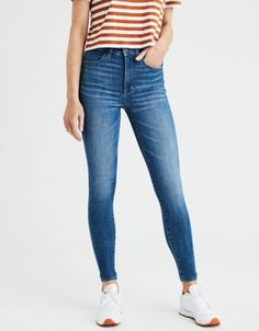 7e88dd4b4c0e0 AE Ne(X)t Level Highest Waist Jegging by American Eagle Outfitters | Ne(X)t  Level Stretch. Serious fit, comfort,