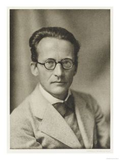 Erwin Schrödinger (1887 - 1961). Quantum physics thus reveals a basic oneness of the universe.  Erwin Schrodinger