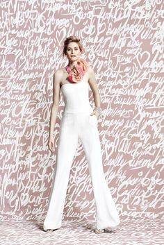 Stunning Wedding Ensembles For The Unconventional Bride:  Jumpsuits