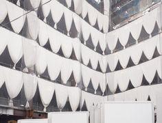 "janvranovsky: "" Construction site in Okachimachi, Tokyo | © Jan Vranovský…"