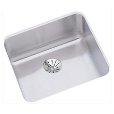 Elkay Lustertone Stainless Steel x x Single Bowl Undermount ADA Sink with Perfect Drain Undermount Bar Sink, Undermount Stainless Steel Sink, Stainless Steel Grades, Stainless Steel Kitchen, Ada Sink, Commercial Sink, Washing Dishes, Kitchen Sink, Basin