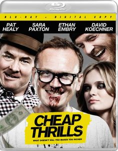 bdf3e4ddb66b Cheap Thrills Blu-ray DVD Release Details and Art