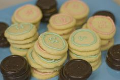 button cookies