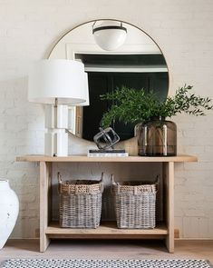 Home Interior Design .Home Interior Design Boho Living Room, Living Room Decor, Minimal Living Rooms, Entryway Console Table, Console Tables, Console Table Living Room, Entryway Furniture, Painted Furniture, Cottage Entryway
