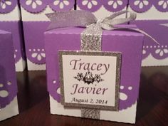 Wedding Favor Box
