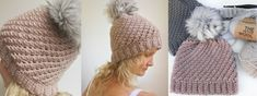 Ellen Bergmann from Crochet by Ellen joins us again to share a new, FREE crochet pattern for a very fashionable fall and winter hat. Best part? It only needs one skein of yarn!