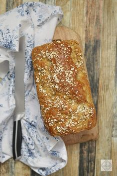 Receta de Pan de Avena y Miel - 2 Bread Slices Pan Bread, Bread Baking, Bread Recipes, Cake Recipes, Apple Bread, Homemade Ice, Sin Gluten, I Foods, Catering