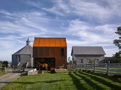 Enough House is the newest addition to the architect's own farm in Nova Scotia, Canada, and an essay in economy of space, budget, schedule and aesthetic.