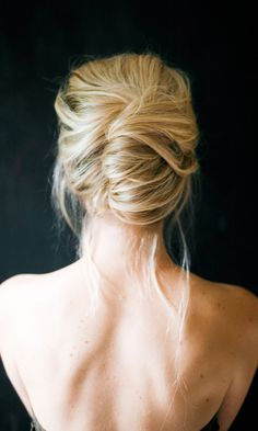 50 Hair Tutorials  How To's To Inspire You! The messy french twist