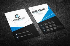 Modern Business Card Template Creative Templates