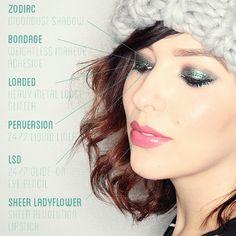 keiko lynn: Makeup Monday: Glitter and Smoke