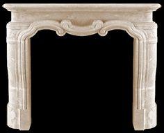 Cast Stone Mantel FP-179-CS - Classic Collection