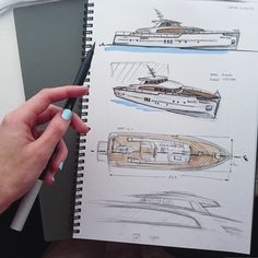 Cantierri Di Pisa 22 Yacht Design, Boat Design, Luxury Yacht Interior, Luxury Yachts, Boat Sketch, Floating Architecture, Boat Drawing, Classic Yachts, Car Design Sketch