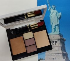 The perfect look for the Big Apple.  Colour Box for New York!  Love the red lips.