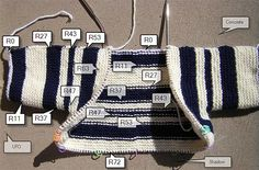 BSJ with stripes, rows labeled | Flickr - Photo Sharing!