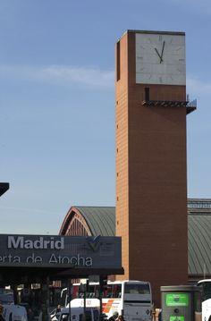 Cadran Bodet à la gare de Madrid Atocha.