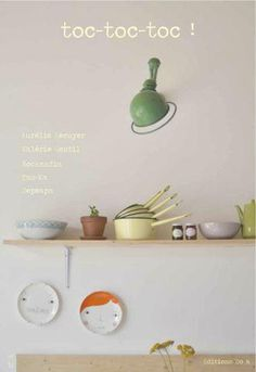 Image of toc-toc-toc! My Magazine, French Magazine, Kitchenware, Tableware, Conkers, Magazines For Kids, Creative Inspiration, Decoration, Home Projects