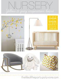 Yellow and Gray Nursery....cute
