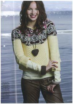 Odd Molly multicolored knit in Menaiset Finland November 2008