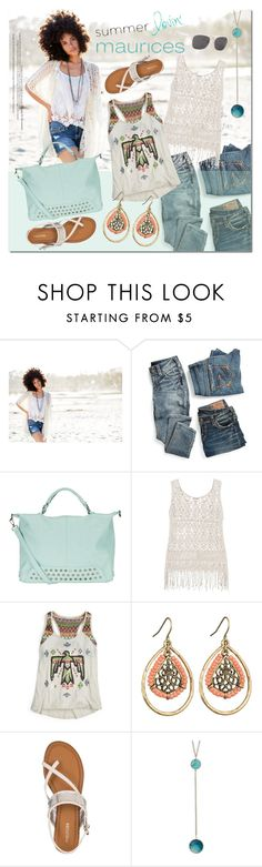 """""""maurices Contest: Summer Lovin'"""" by justlovedesign ❤ liked on Polyvore featuring maurices and Retrò"""