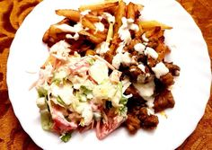 Gyros sertéshúsból recept foto Mozzarella, Tacos, Mexican, Cook Books, Meals, Cooking, Ethnic Recipes, Food, Baking Center