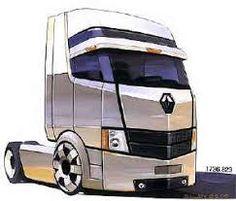 Prototype semi trucks futuristic truck designsglorryblog image result for semi truck rv fandeluxe Choice Image