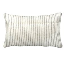 One 12x16 Lumbar Pillow Cover Throw Pillow by ReedFeatherStraw