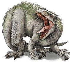 Indominus rex: Bane of T.rex - Sloths and Beavers Dinosaur Sketch, Dinosaur Drawing, Dinosaur Art, Jurassic World Fallen Kingdom, Jurassic Park World, Jurassic World Indominus Rex, Fantasy Creatures, Mythical Creatures, Falling Kingdoms