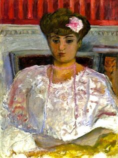 Pierre Bonnard, (1867-1947). Misia with a Pink Corsage 1908