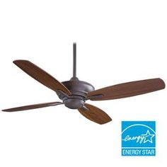 """View the MinkaAire F513 52"""" Blade Span Ceiling Fan from the New Era Collection with Blades and Remote Included at LightingDirect.com."""