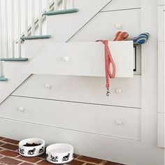 Mudroom - Senoia Georgia Idea House Tour - Southern Living Hillary in Love it or List it used this idea Built Ins, Stairs, Home, Small Spaces, Space Decor, Storage Spaces, Hallway Storage, Southern Living Homes, Understairs Storage