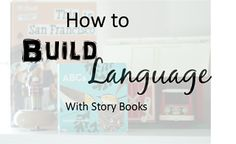 Speech and Love: Building Language with Books