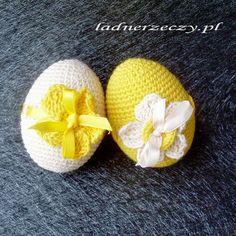 ladnerzeczy.pl: Szydełkowe jaja - c.d.