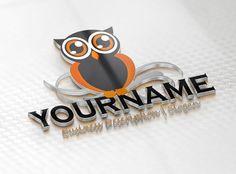 Online owl logo design for sale - Logo Templates Online Logos Design Sale Logo, Online Logo, Logo Templates, Advertising, Logo Design, Blog, Prints, Owls, Drawings