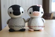 (4) Name: 'Crocheting : Amigurumi Pattern - Pippin the Penguin