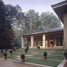 mediterranean exterior by Summerour Architects