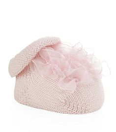 Harrods of London Organza Knitted Bootie