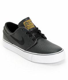 Nike SB Stefan Janoski GS Anthracite, White & Black Boys Shoe at Zumiez : PDP