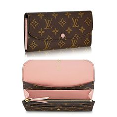 Demonstrating that usability and gorgeous style can coexist, the Emilie wallet is classy in soft Monogram canvas with a vibrant lining color. Multiple pockets and an eye-catching design make it alluring. http://www.luxtime.su/louis-vuitton-monogram-canvas-emilie-wallet-m60696-light-pink