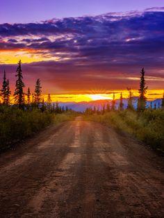 Nabesna Valley - Wrangell/St. Elias National Park.