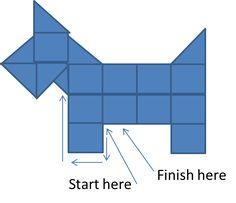 Patchwork Scottie Dog Pattern