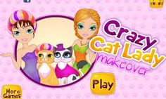 Do you all love cats and makeovers? Because in this amazingly cute game you have to take care of yourself and your cat. Wash, clean and dress up yourself and your cute cat! Turn into a true cat lady fashionista and take your pet with you everywhere you go. Today you are going to the beauty parlor to get a facial beauty treatment and have your hair done. Your cat will benefit from a similar spa salon treatment. Have fun playing this brand new facial beauty game and dress up game in one!! <...