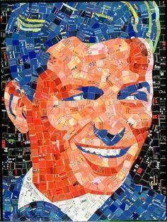 Offbeat #Celebrity #Portraits - Frank Sinatra