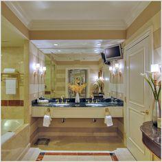 Bathroom at the Venetian Hotel in Las Vegas