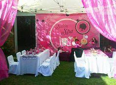 Fiestas temáticas para niñas #party #juliaparty #fiestaspa