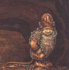 """Troll  -  by John Bauer 