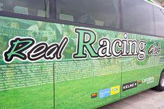 lateral ALSA bus Supra Racing de Santander